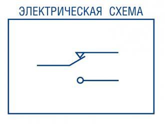 Электрическая схема микровыключателя АМ-800К