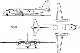 Перечень запчастей Ан-26